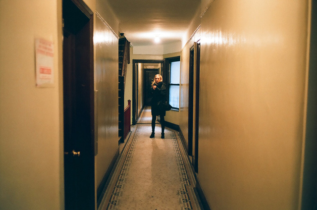jen in the hallway - Harlem.jpg