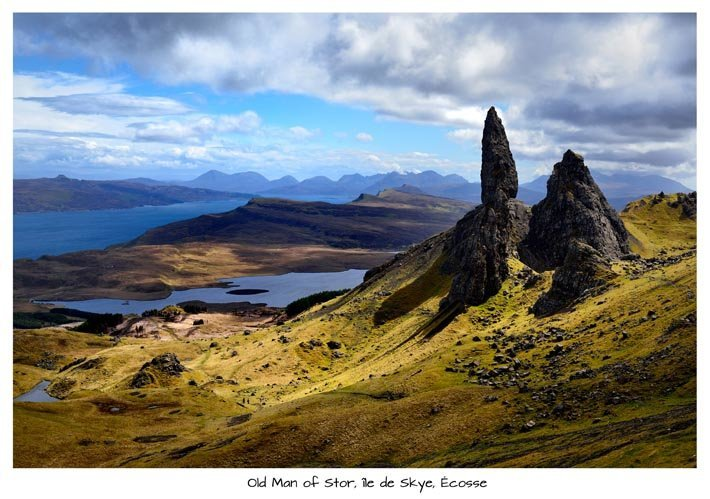 Old Man of Stor, île de Skye, Écosse