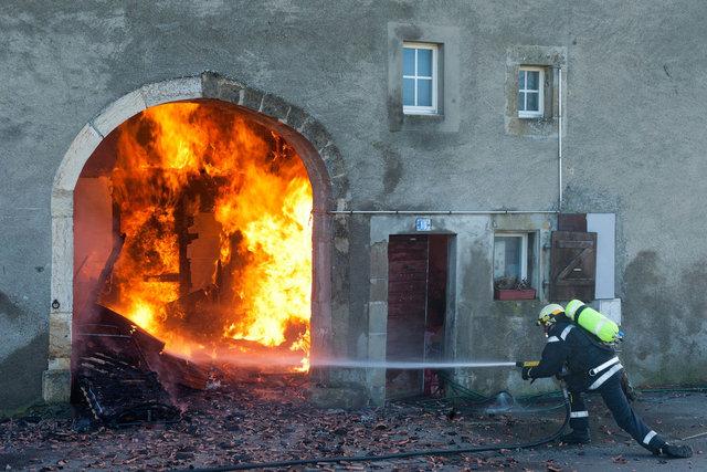 Incendie - Penthalaz - 2012