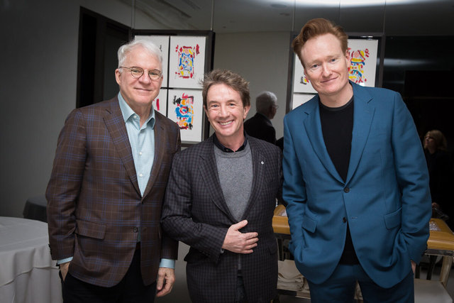 Steve Martin, Martin Short, Conan O'Brien
