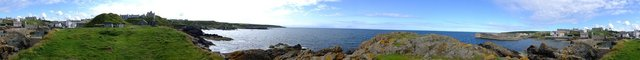 Panoramic Portsoy 3 by Alison Gracie