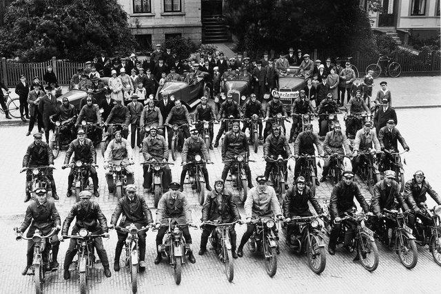 plaatselijke motorrijders club