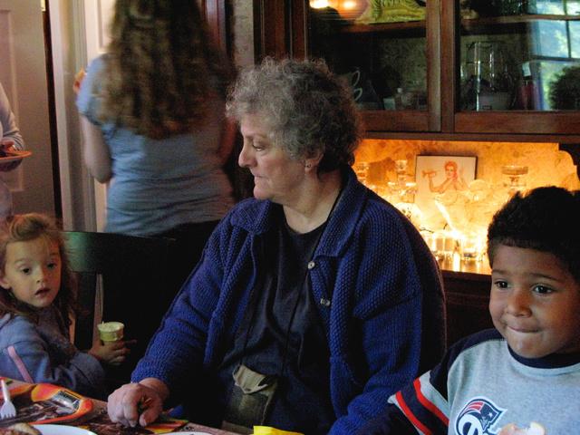 2007.09.15. Pat Costello Higgins (Malcolm's birthday) Sept. 9,