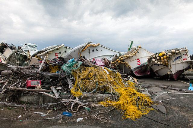 Tsunami debris II.