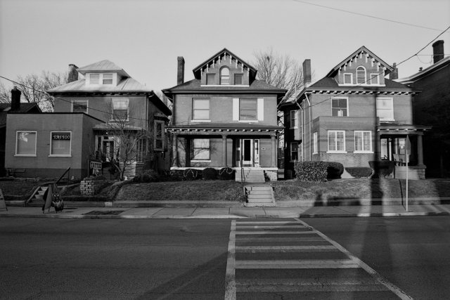 Houses at Sunset - Louisville, KY 2012