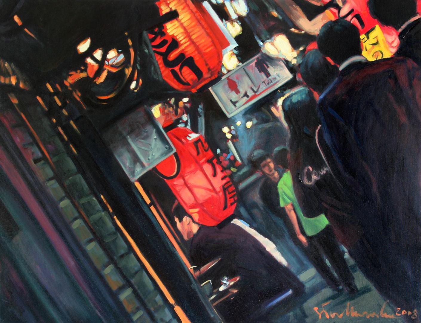 olej na płótnie 116 x 89, 2008