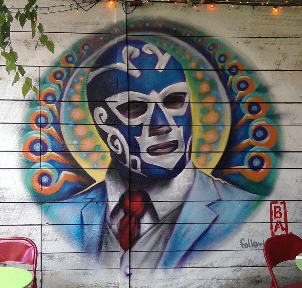 La Esquina mural, Williamsburg