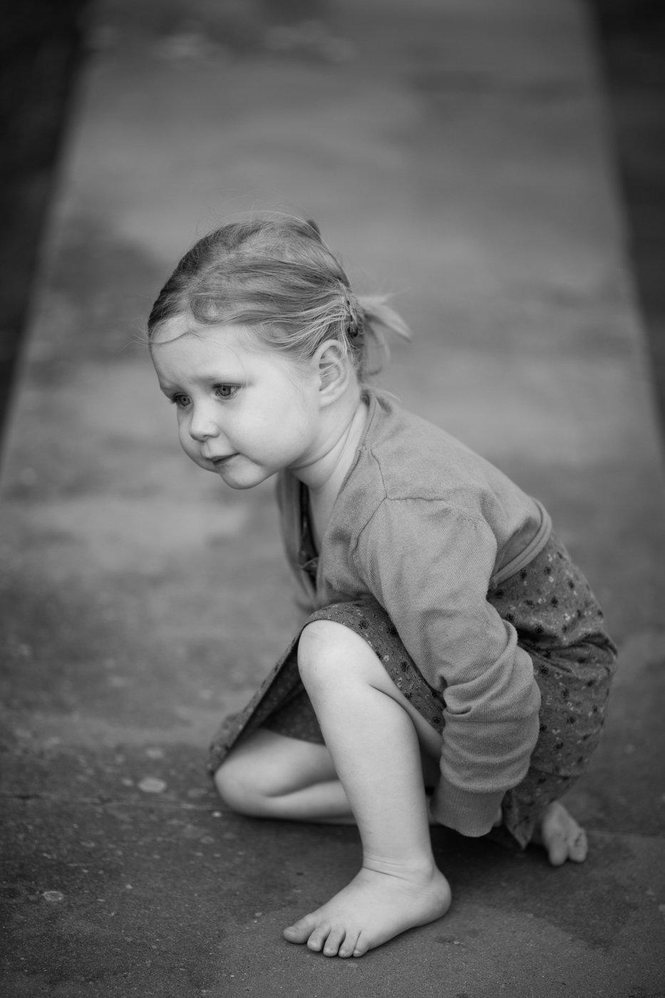 portretfoto jong kind