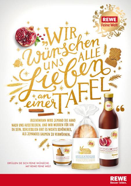 """REWE """"Feine Welt"""" / Weihnachtskampagne 2015"""