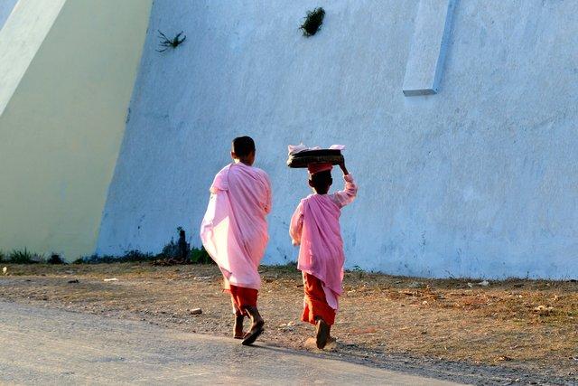 Back home - Burma