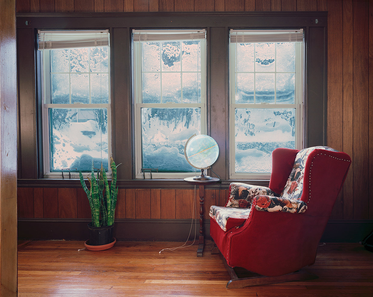 Untitled Interior (blizzard), 2005
