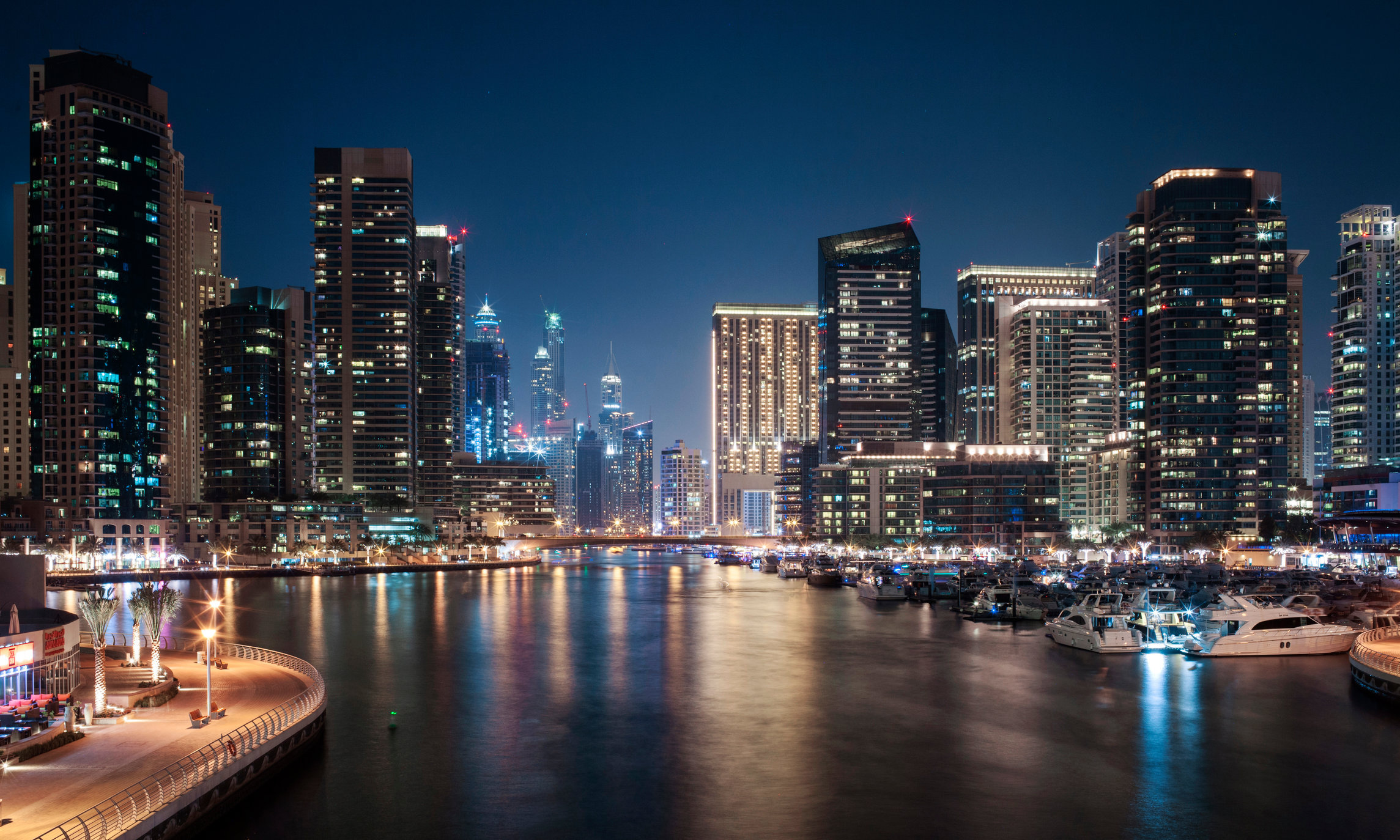 Dubai Marina Harbor