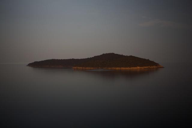 Pequena Ilha em frente a Dubrovnik