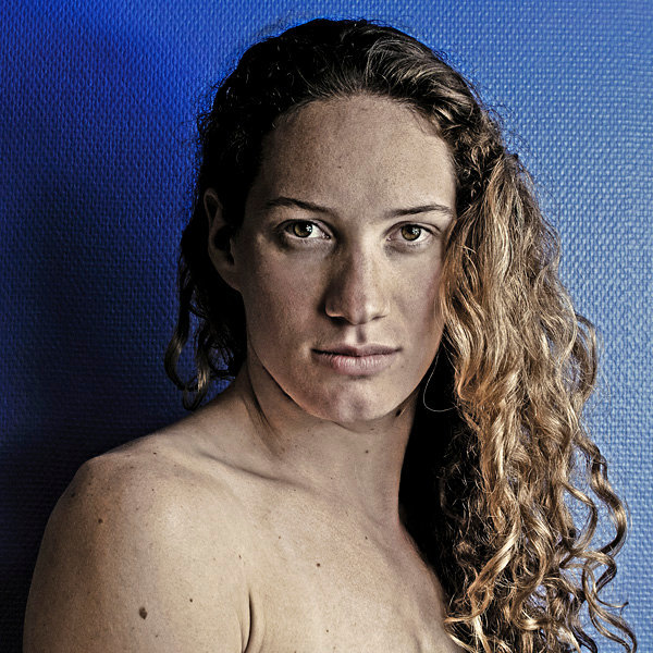Camille Muffat, championne olympique de natation