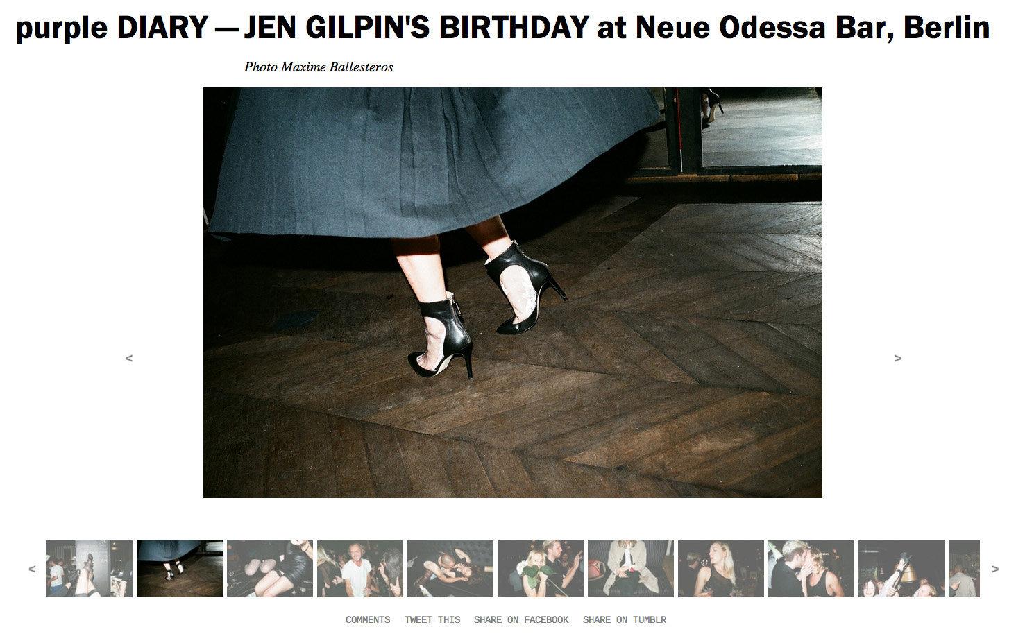 purple DIARY   JEN GILPIN S BIRTHDAY at Neue Odessa Bar  Berlin.jpg