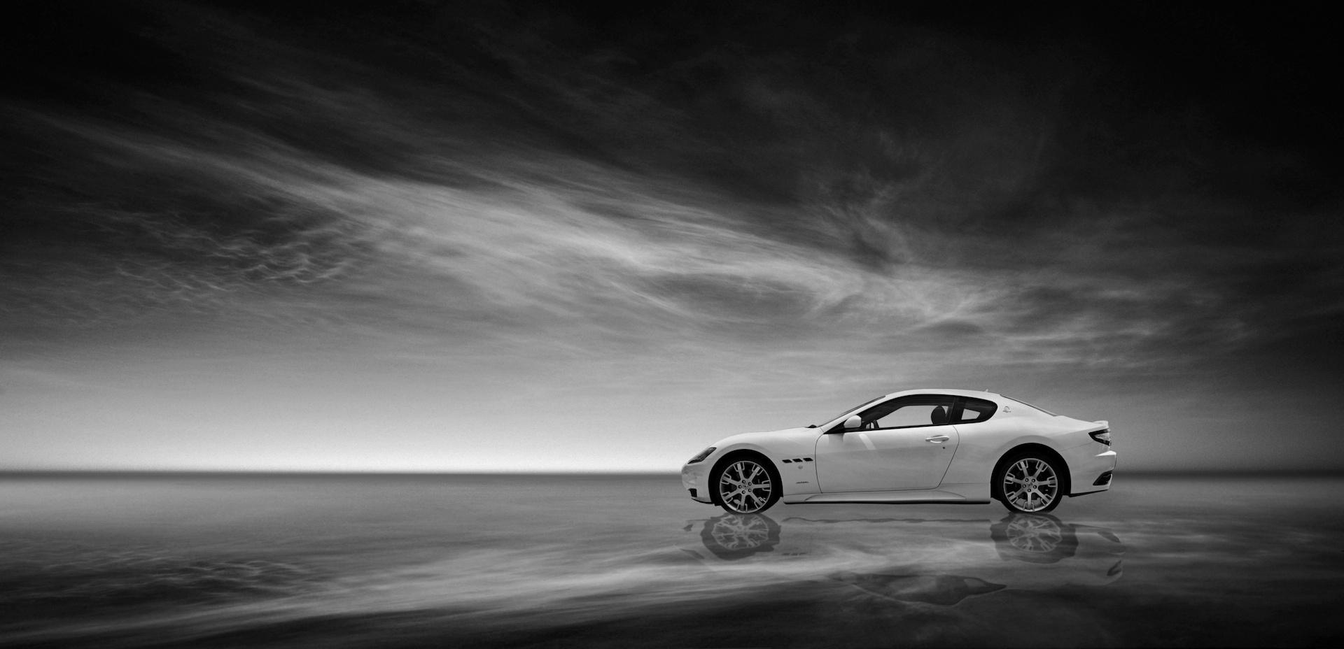 Maserati on Water