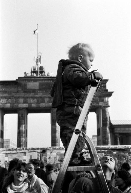 berlijn 1989 vallen van de muur