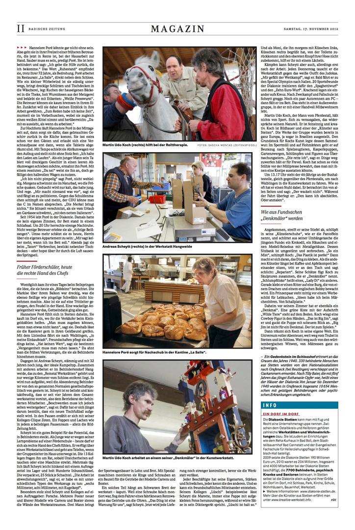 Badische Zeitung 17.11.2012