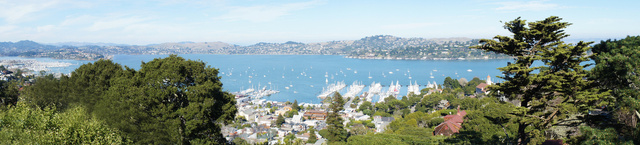 Panorama of Richardson Bay