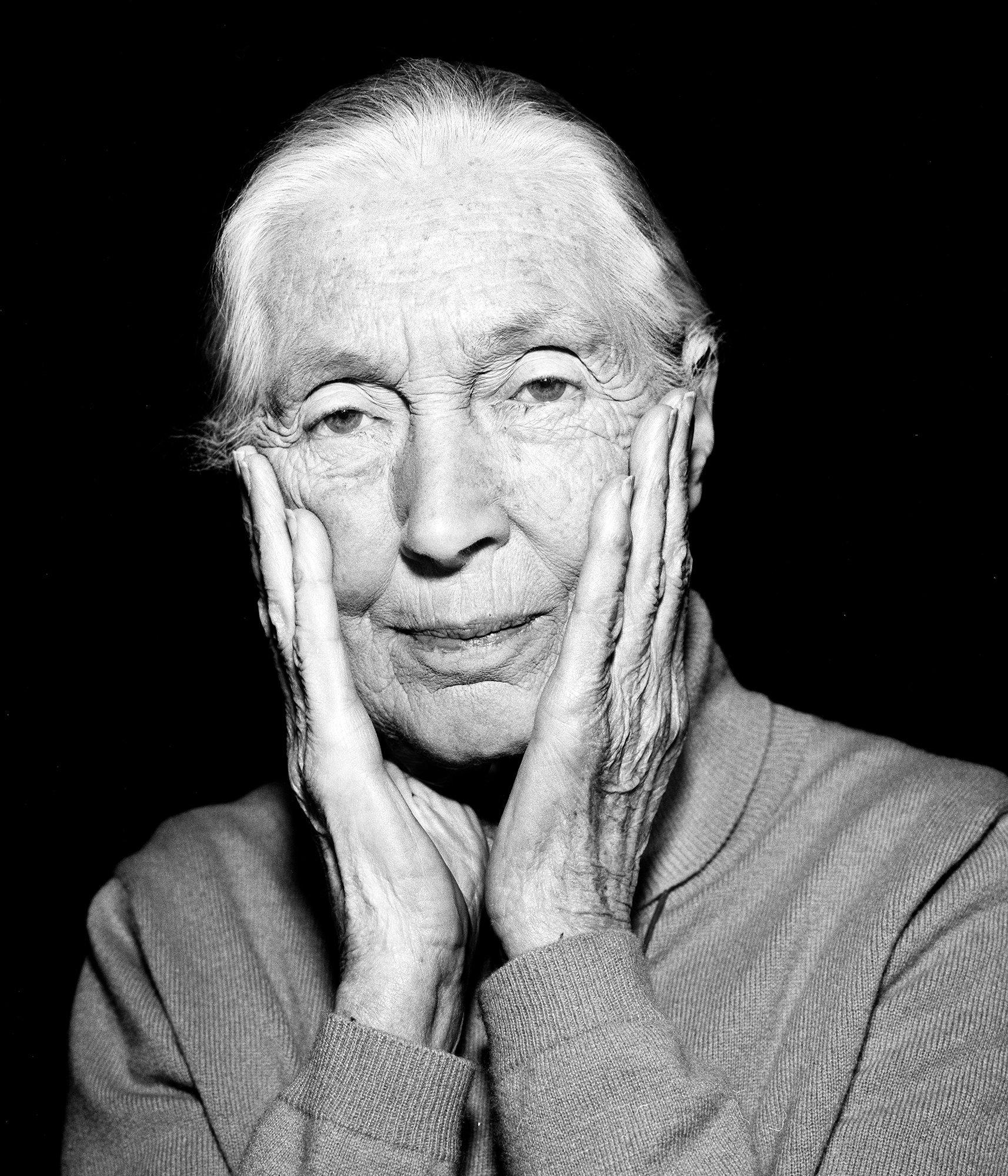Jane Goodall pour ELLE