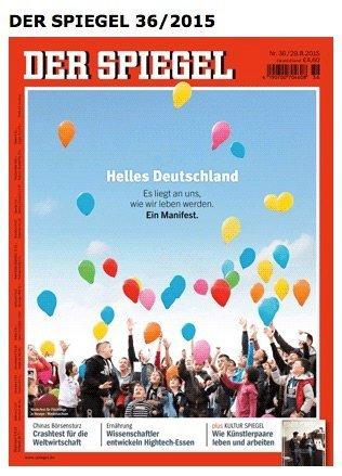 Der Spiegel - Titel 08.2015