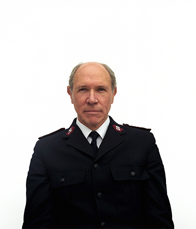 Major Colin Hunt-Corps Officer