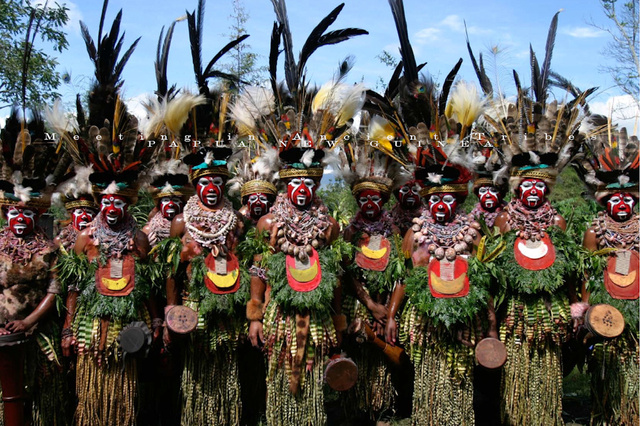 Papua New Guinea Tribes, 旅学 (JPN) 2 of 10.