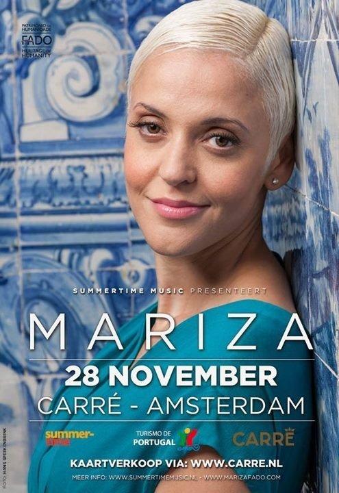 Flyer Carre, Mariza Fado singer