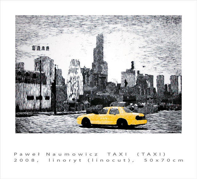 Taxi 50x70