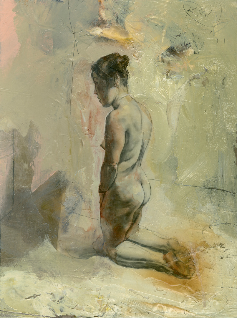 Alternate Figure Study for Blue and Rose (3)