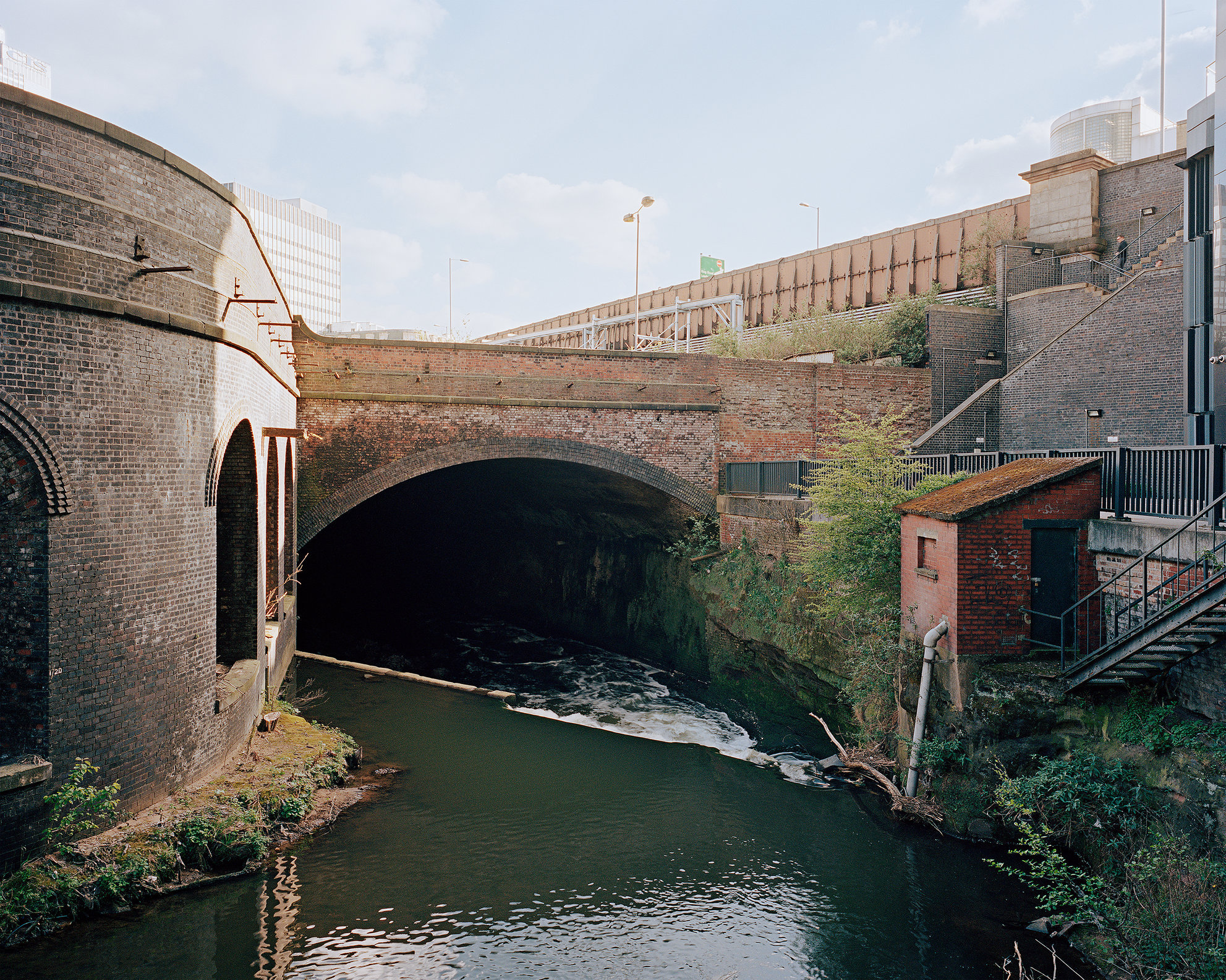 River Irk, Central Manchester