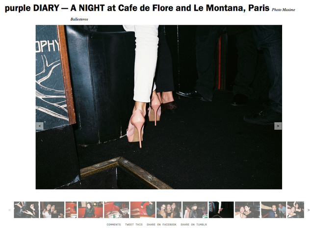 purple DIARY   A NIGHT at Cafe de Flore and Le Montana  Paris.jpg