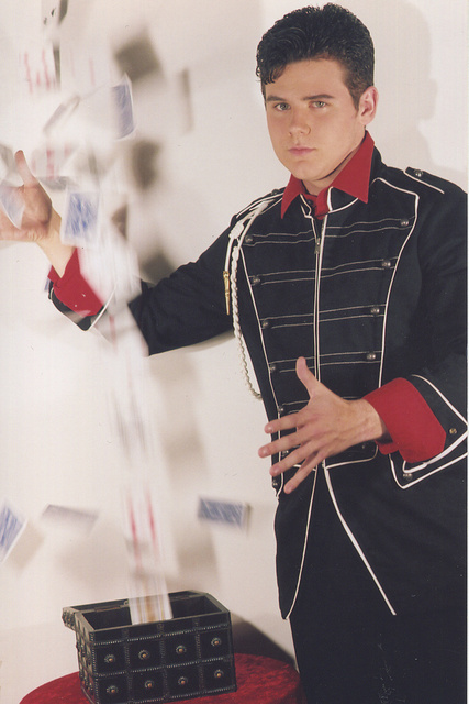 BRANDON WAGSTER-    CHILD MODEL/ACTOR.  TOP 4 TEEN MAGICIANS in Vegas Intl Competition