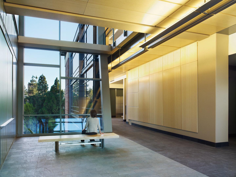 UCLA Life Sciences Research Bldg Atrium 3 of 3