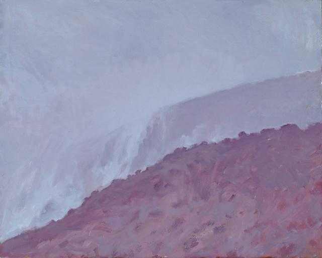 """Rain near Taos, NM, 24 x 30"""""""