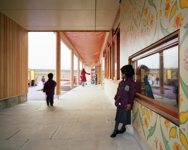 Krishna Avanti Primary School. Cottrell and Vermeulen Architects.