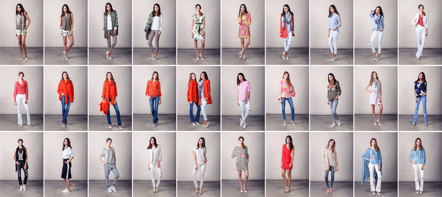 Carre Mode lookbook SS16