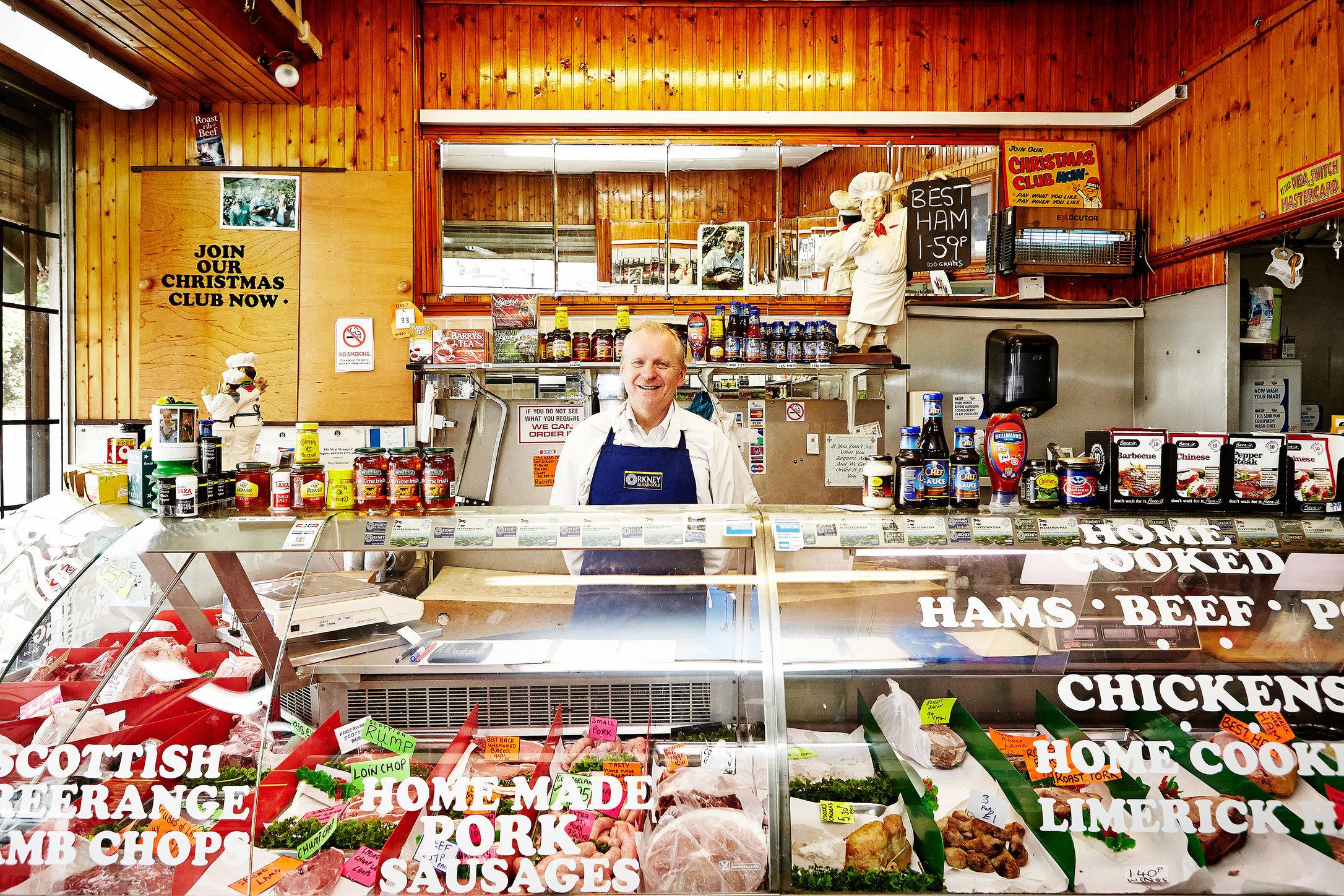 Hammond & Son Butchers, Cricklewood Broadway