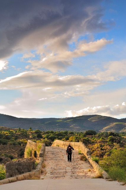 Pont d'El Tiemblo, chemin d'Avila, Espagne