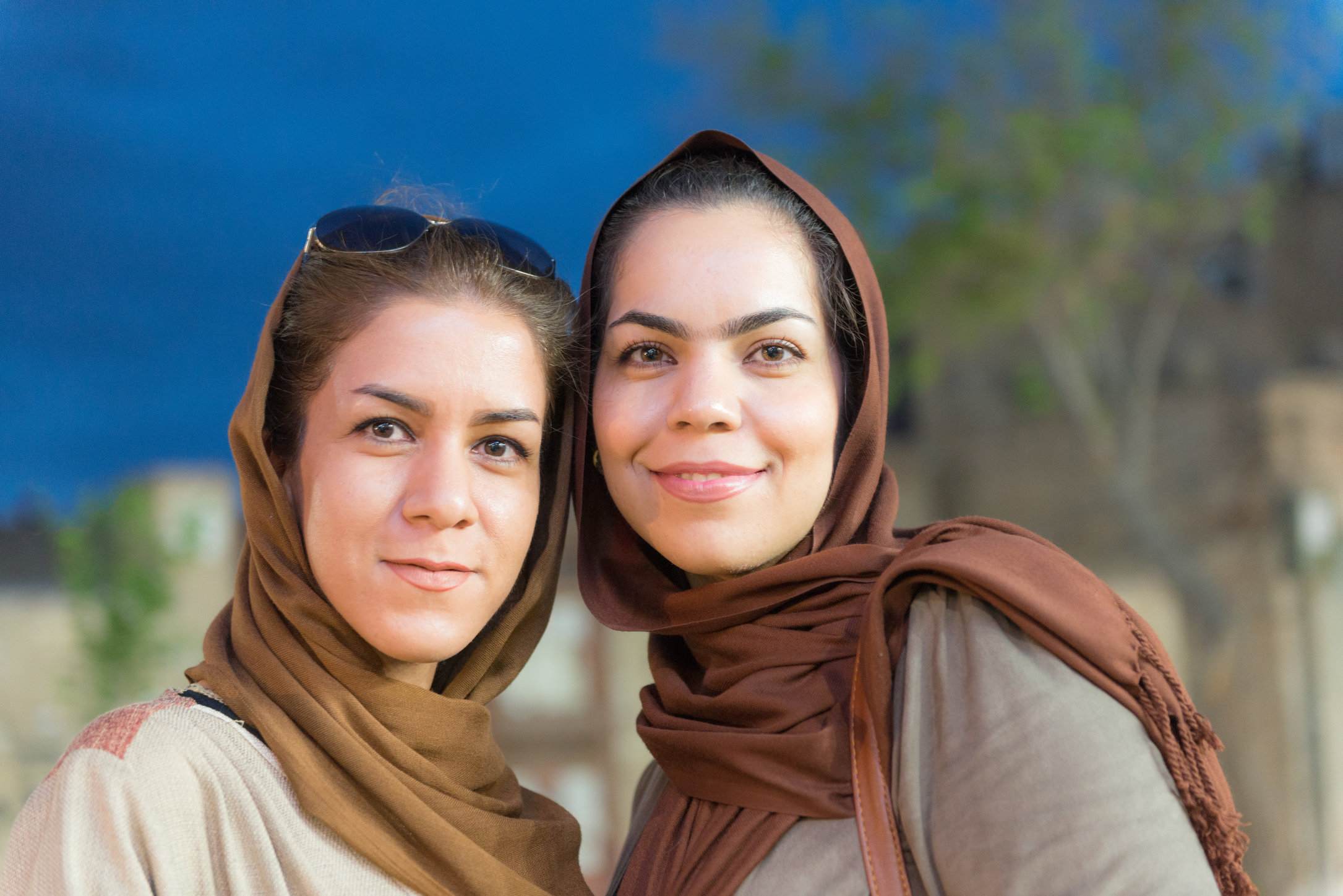 Young women in Yazd