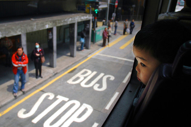 Hong Kong Bus Stop