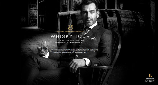 Landmark Whisky Tour campaign
