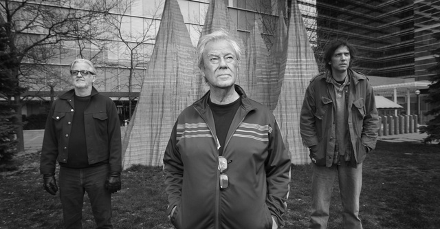 Greg Keelor , Gordon Pinsent, and Travis  Good