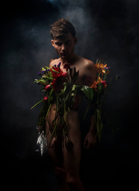 Liam as Dionysus