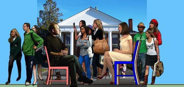 Conversations: Coffee Talk, 2015, SketchUp Animation, 1:55