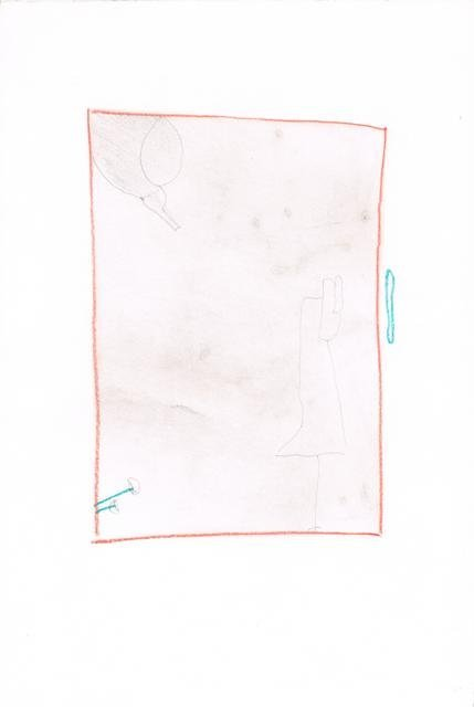 Zonder Titel, 2010  25 x 37,4 cm
