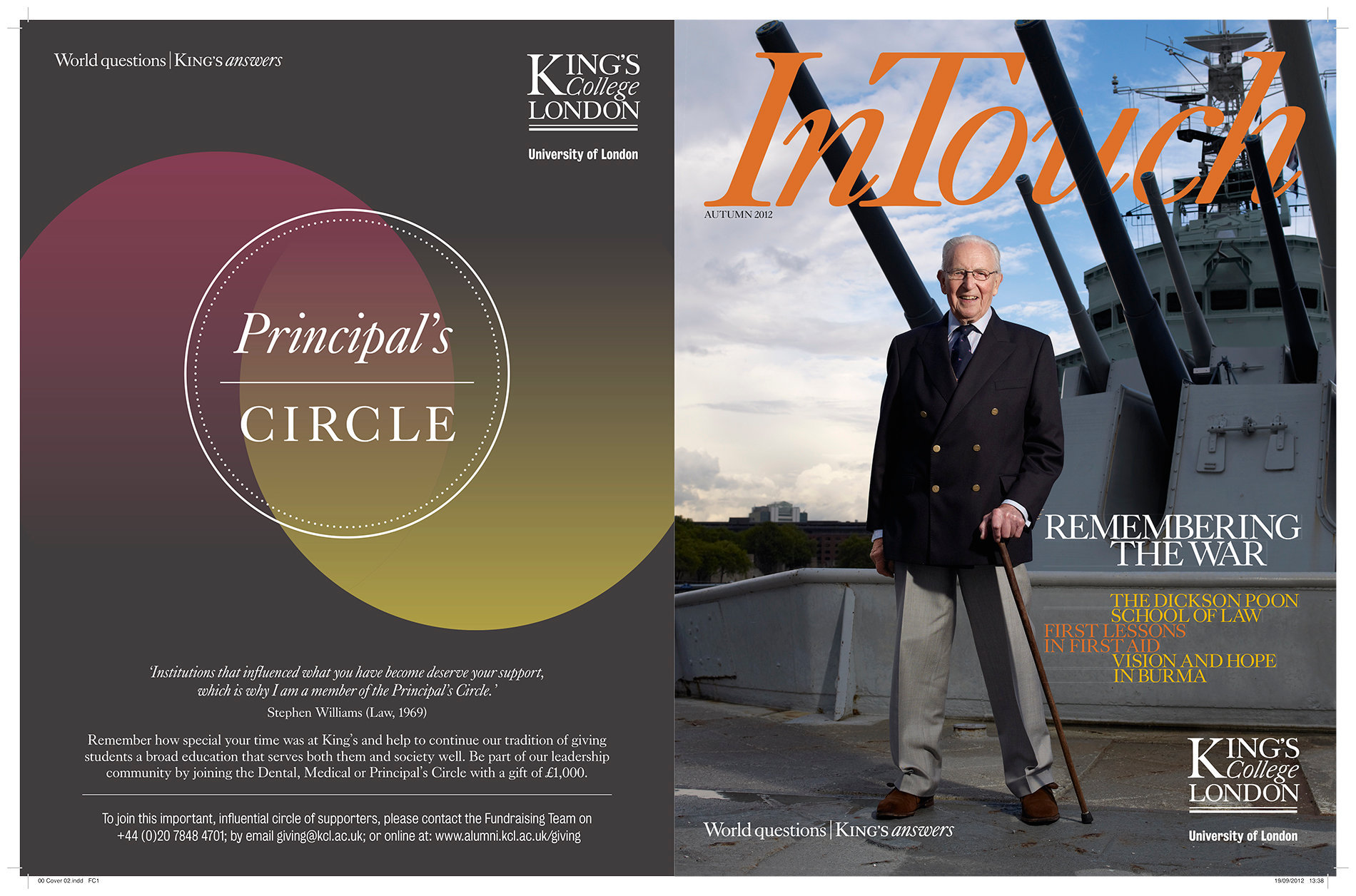 Kings InTouch Autumn 2012