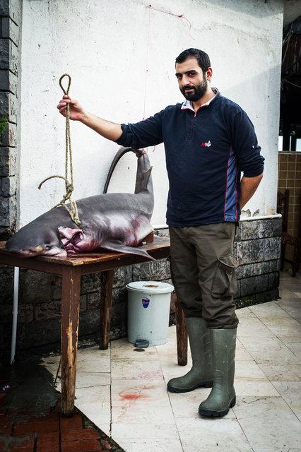 Fisherman, Istanbul, Turkey 2014