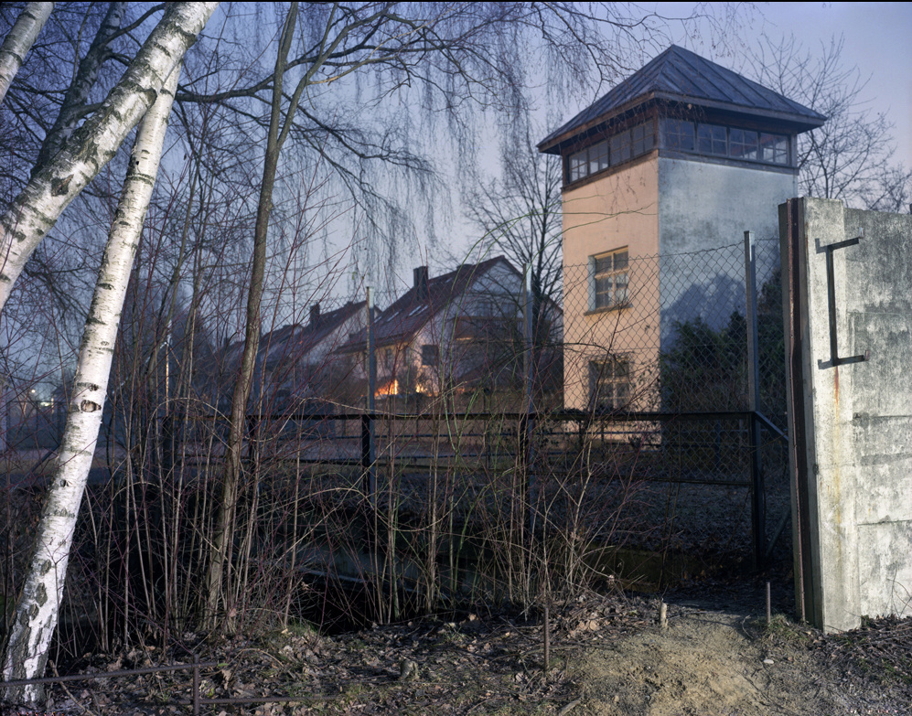 43. Dachau WatchTower and neighboring houses 2007.jpg