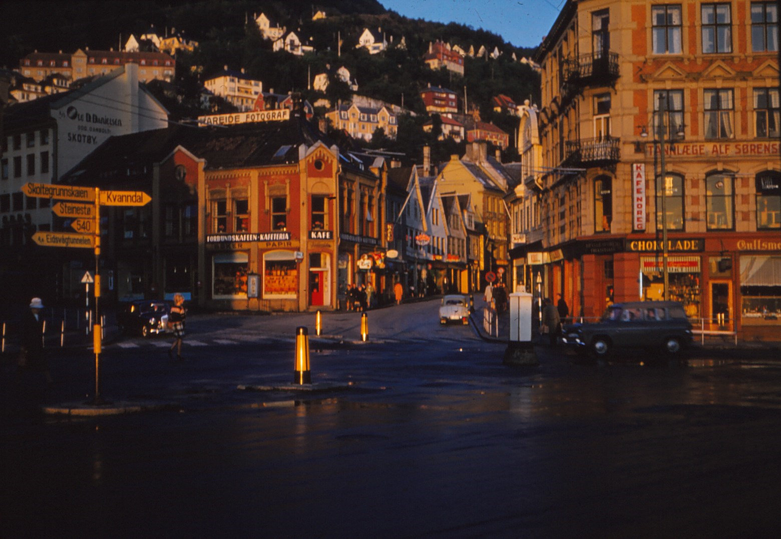 1204 (15) Avondzon op Bergen
